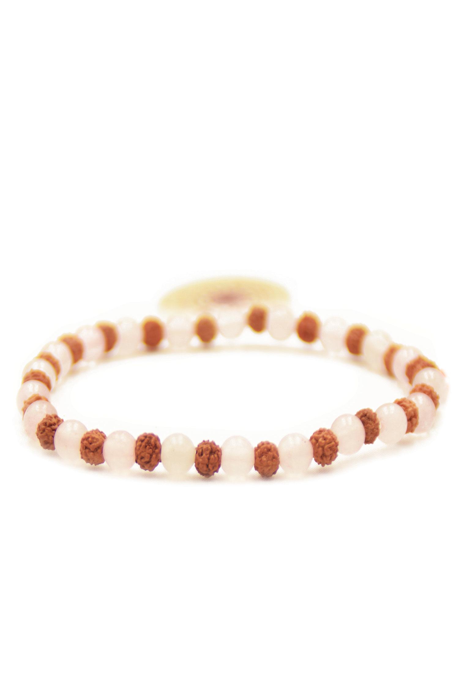 rosenquarz-armband